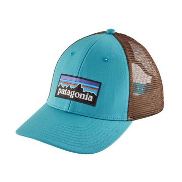 Patagonia P-6 Logo LoPro Trucker Hat Mako Blue (Close Out)