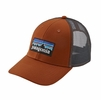 Patagonia P6 Logo LoPro Trucket Hat Copper Ore