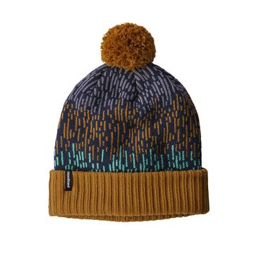 Patagonia Powder Town Beanie Melt Down: Hammonds Gold (Close Out)