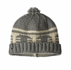 Patagonia Sapka Beanie Siphon Stripe: Light Feather Grey