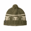 Patagonia Sapka Beanie Siphon Stripe: Sage Khaki (Close Out)