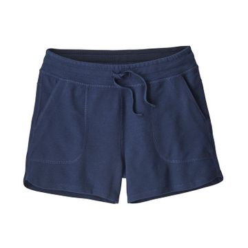 Patagonia Womens Ahnya Shorts Navy Blue (Close Out)