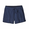 Patagonia Womens Ahnya Shorts Navy Blue