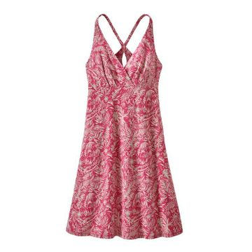 Patagonia Womens Amber Dawn Dress It's a Forest: Reef Pink (Close Out)