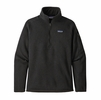 Patagonia Womens Better Sweater 1/4 Zip Black