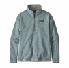 Patagonia Womens Better Sweater 1/4 Zip Hawthorne Blue (Close Out)