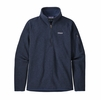 Patagonia Womens Better Sweater 1/4 Zip New Navy