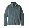 Patagonia Womens Better Sweater 1/4 Zip Shadow Blue