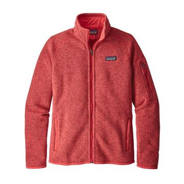 Patagonia Womens Better Sweater Fleece Jacket Tomato (Close Out)