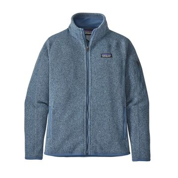 Patagonia Womens Better Sweater Jacket Berlin Blue