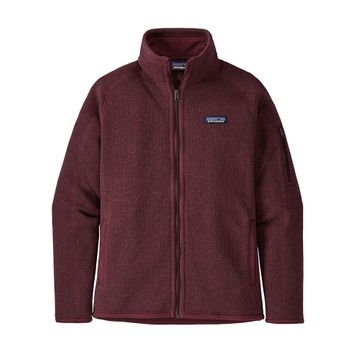Patagonia Womens Better Sweater Jacket Chicory Red