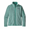 Patagonia Womens Better Sweater Jacket Lite Distilled Green