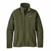 Patagonia Womens Better Sweater Jacket Nomad Green