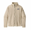 Patagonia Womens Better Sweater Jacket Oyster White