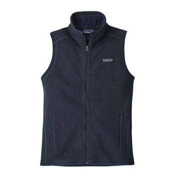 Patagonia Womens Better Sweater Vest New Navy