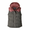 Patagonia Womens Bivy Hooded Vest Forge Grey