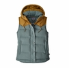 Patagonia Womens Bivy Hooded Vest Shadow Blue