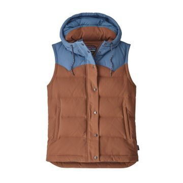 Patagonia Womens Bivy Hooded Vest Sisu Brown (Close Out)