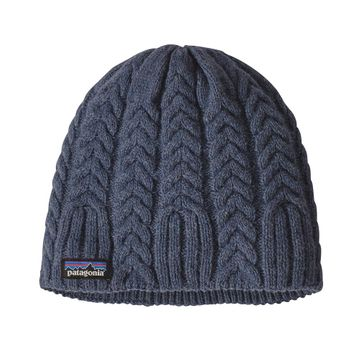 Patagonia Womens Cable Beanie Dolomite Blue