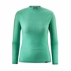 Patagonia Womens Capilene Air Crew Vjosa Green