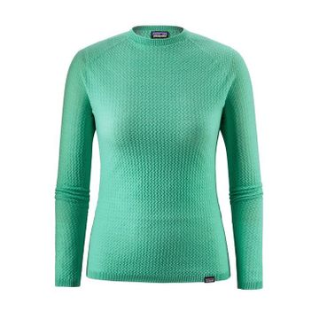 Patagonia Womens Capilene Air Crew Vjosa Green (Close Out)