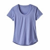 Patagonia Womens Capilene Cool Trail Shirt Light Violet Blue