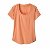 Patagonia Womens Capilene Cool Trail Shirt Peach Sherbet (Close Out)