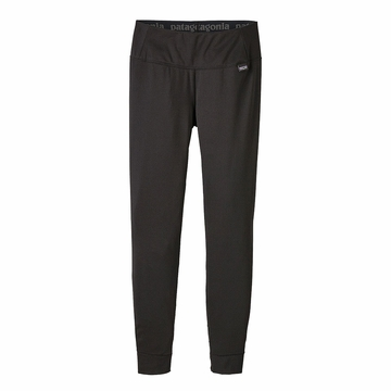 Patagonia Womens Capilene Midweight Bottoms Black