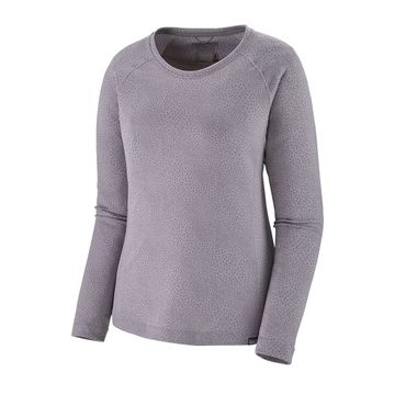 Patagonia Womens Capilene Midweight Crew Migration: Smokey Violet