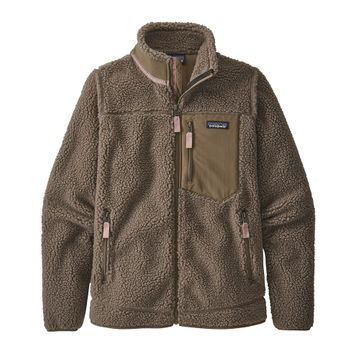 Patagonia Womens Classic Retro-X Jacket Furry Taupe (Close Out)