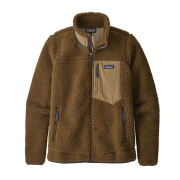 Patagonia Womens Classic Retro-X Jacket Owl Brown