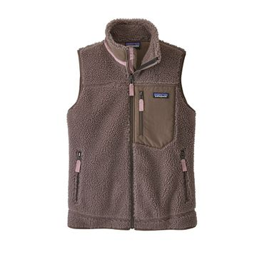 Patagonia Womens Classic Retro-X Vest Furry Taupe (Close Out)