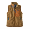 Patagonia Womens Classic Retro-X Vest Nest Brown