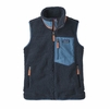 Patagonia Womens Classic Retro-X Vest Smolder Blue (Close Out)