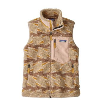 Patagonia Womens Classic Retro-X Vest Take Root: Natural