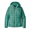Patagonia Womens Down Sweater Hoody Beryl Green