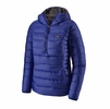 Patagonia Womens Down Sweater Hoody Pullover Cobalt Blue (Close Out)