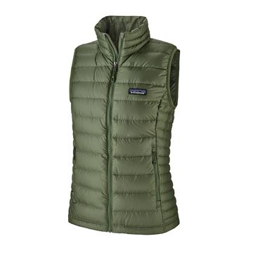 Patagonia Womens Down Sweater Vest Camp Green