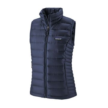 Patagonia Womens Down Sweater Vest Classic Navy