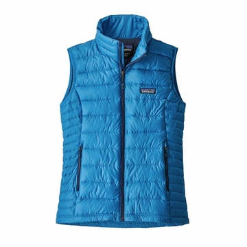 Patagonia Womens Down Sweater Vest Lapiz Blue (close out)