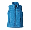Patagonia Womens Down Sweater Vest Lapiz Blue