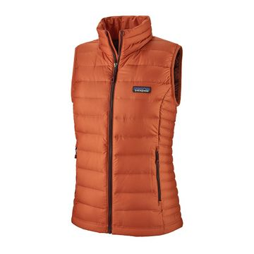 Patagonia Womens Down Sweater Vest Sunset Orange (Close Out)