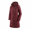 Patagonia Womens Down With It Parka Chicory Red