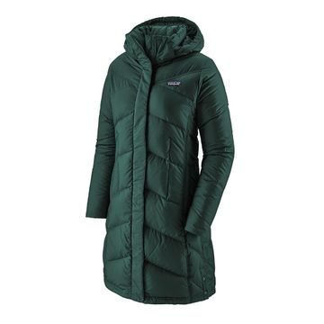 Patagonia Womens Down With It Parka Piki Green