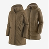 Patagonia Womens Frozen Range 3-in-1 Parka Topsoil Brown (Close Out)