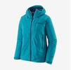 Patagonia Womens Galvanized Jacket Curacao Blue (Close Out)