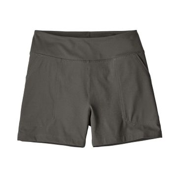 Patagonia Womens Happy Hike Shorts 4in Forge Grey