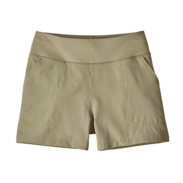 Patagonia Womens Happy Hike Shorts 4in Shale (Close Out)