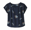 Patagonia Womens June Lake Top Sassafras: New Navy (Close Out)