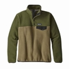 Patagonia Womens Lightweight Synch Snap-T Fleece Pullover Fatigue Green  (close out)